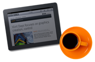 Sign up for the Vizrt Newsletter today!